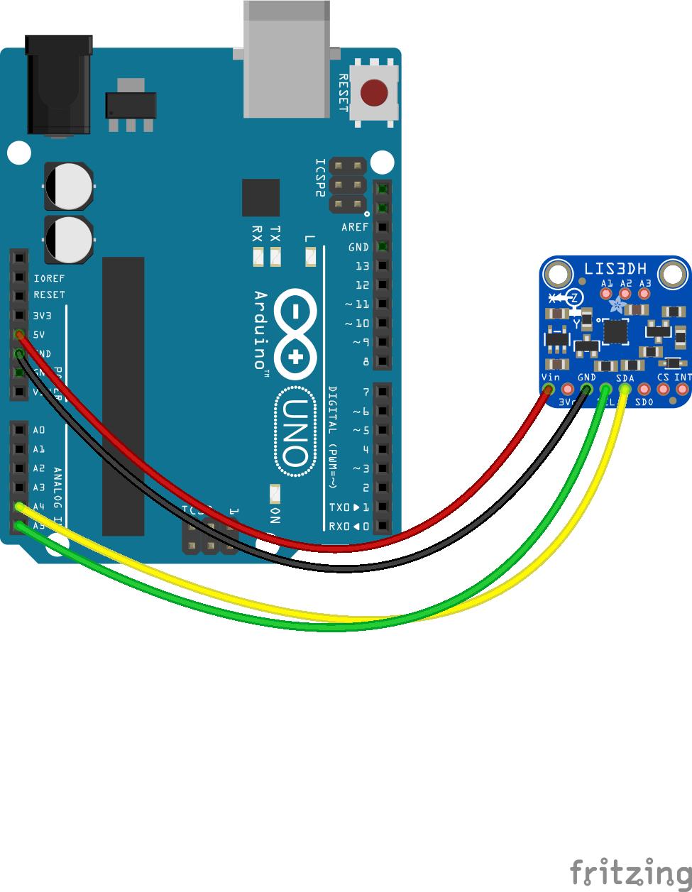 Javascript Robotics Accelerometer Lis3dh With Johnny Five Controlled Robot Circuit Diagram