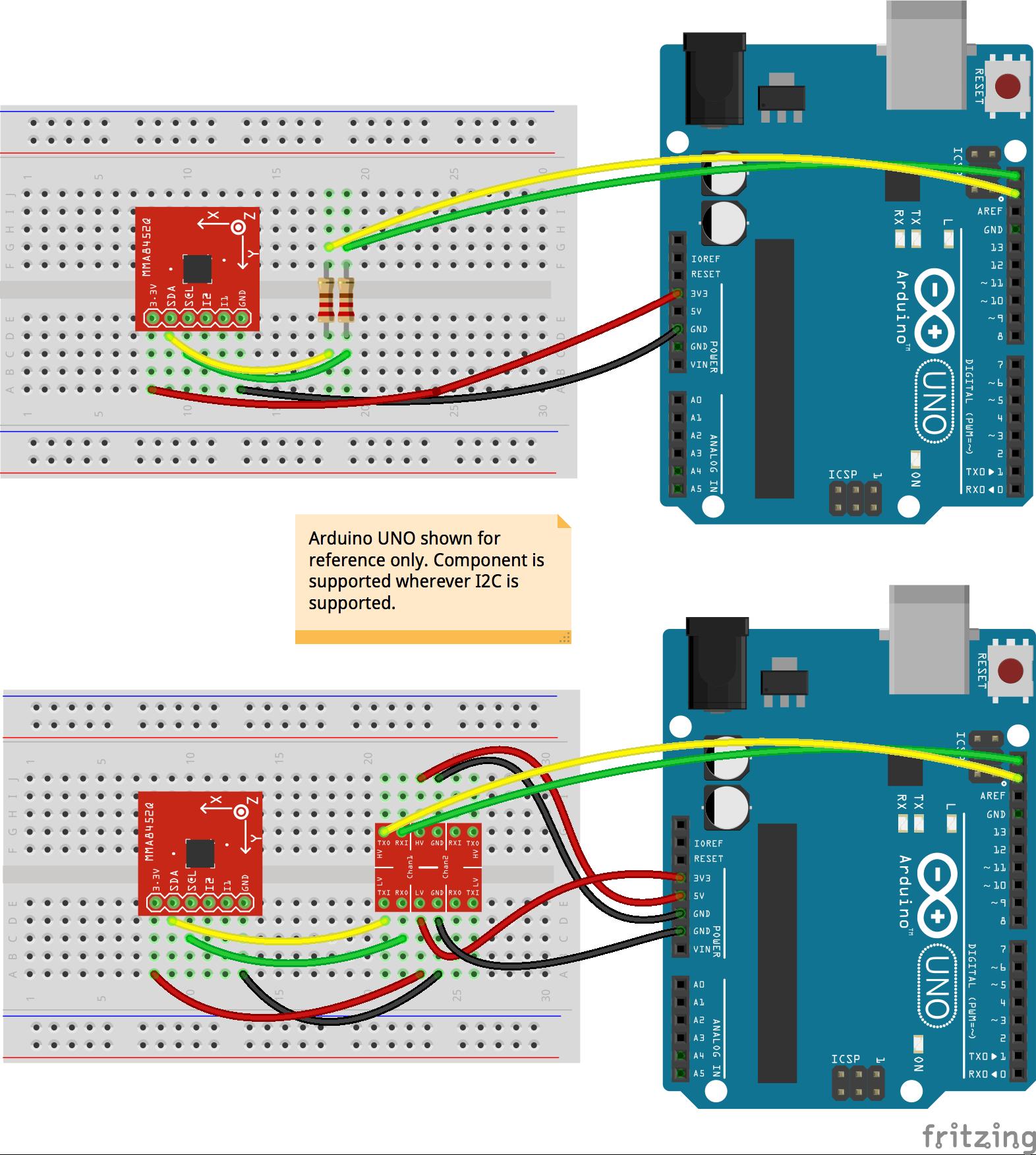 Javascript Robotics  Accelerometer