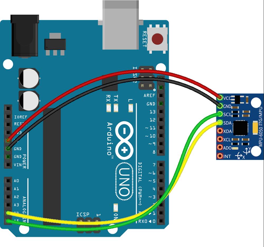 Javascript Robotics Accelerometer Mpu6050 With Johnny Five Analog Joystick Wiring Diagram