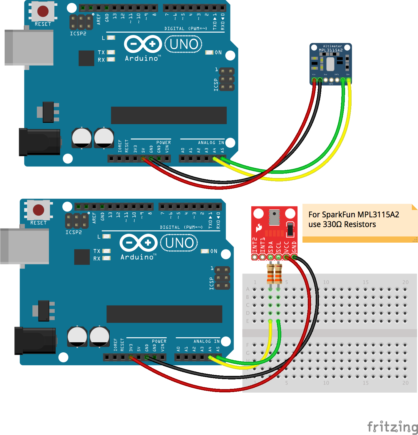Arduino uno printer