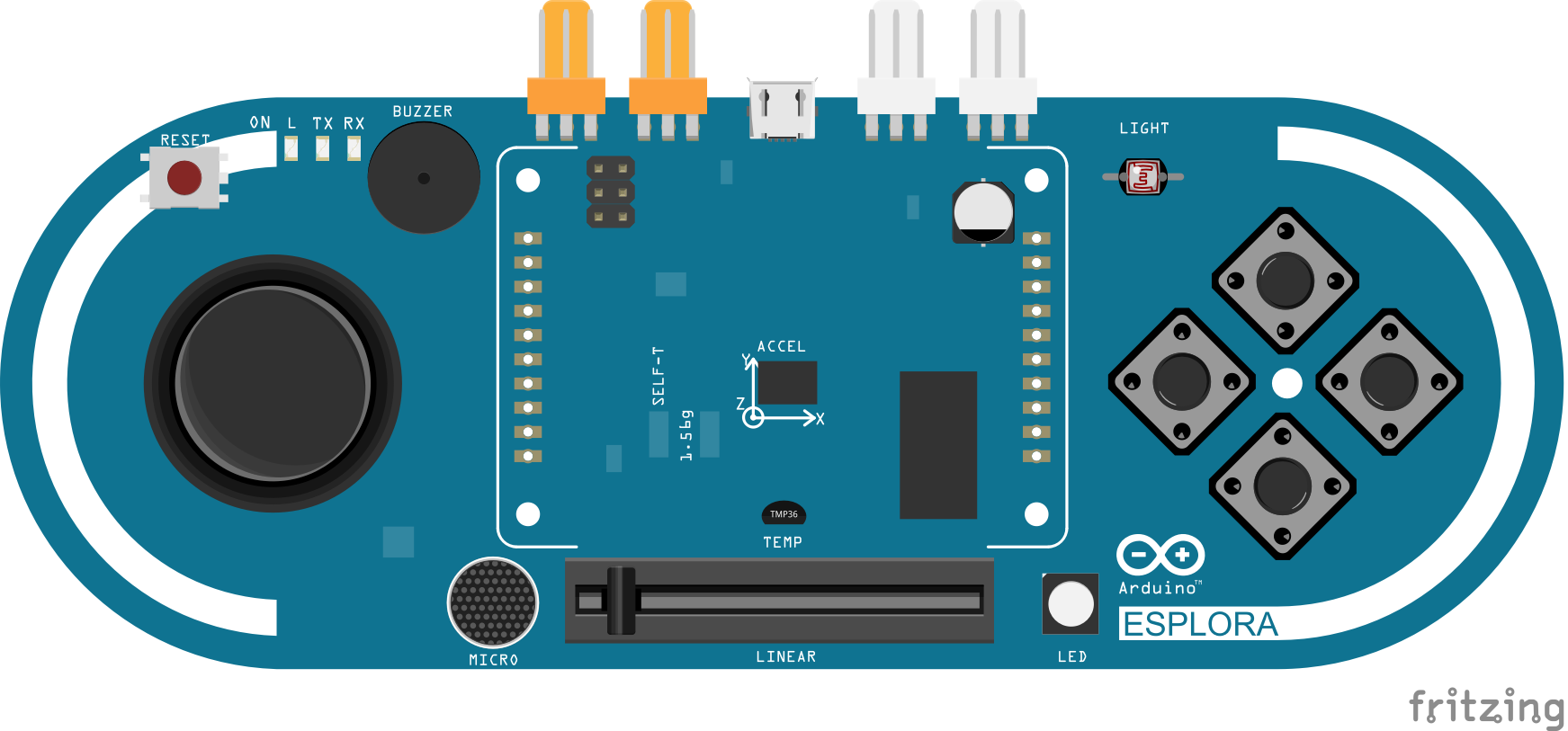 how to run example in arduino