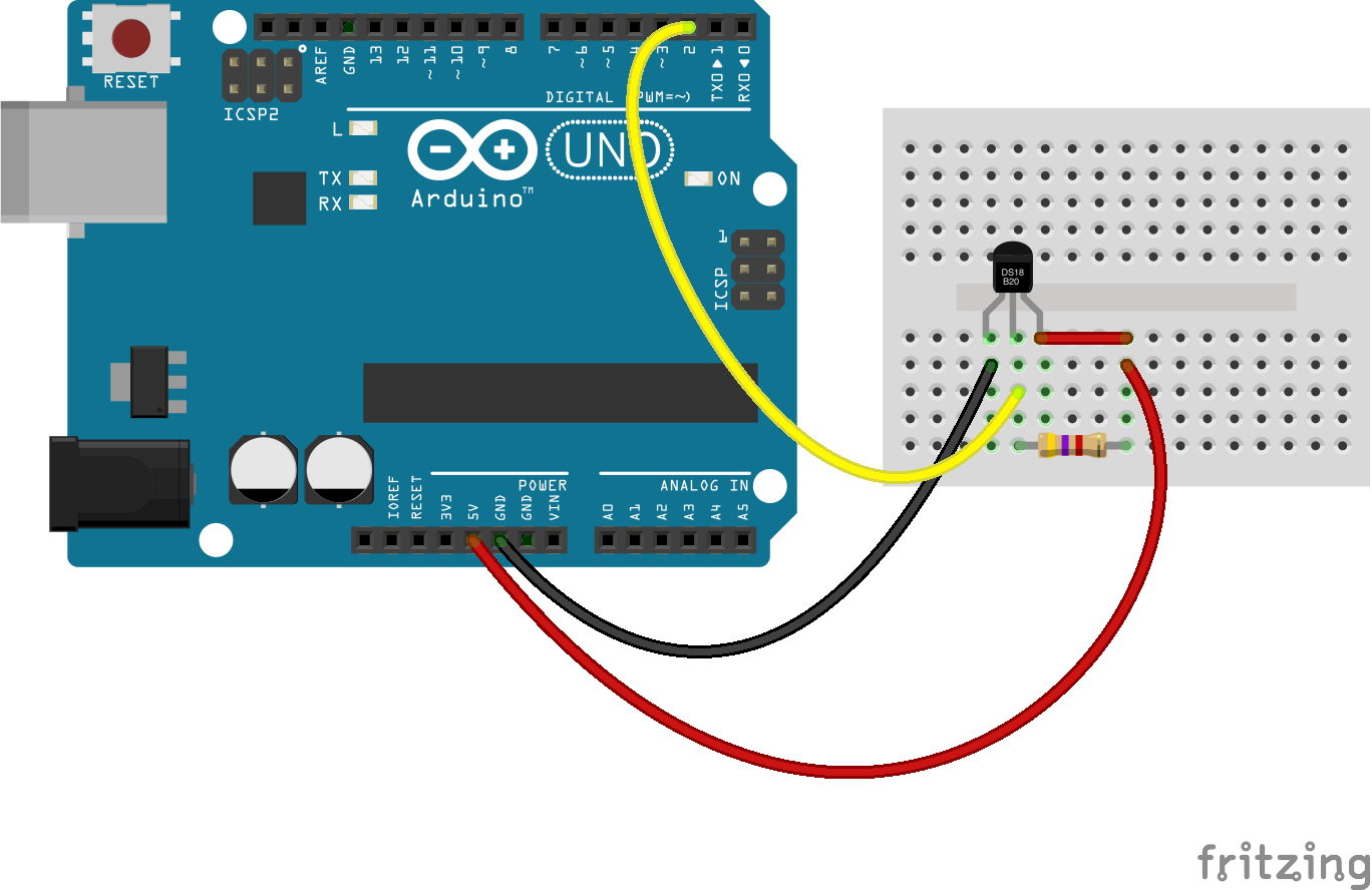 Control of arduino radiators
