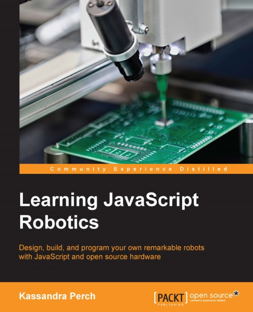 "Cover of ""Learning JavaScript Robotics"""