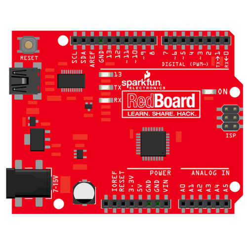 sparkfun redboard